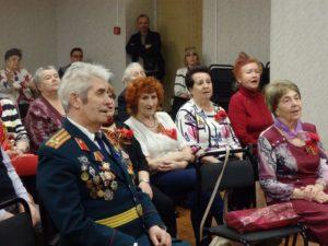 Литературно-музыкальный вечер, посвящённый Дню Победы