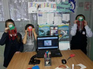 Мастер-класс «Наше Чёрное море»