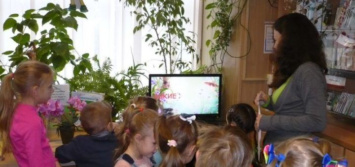На экологическом занятии детям рассказали про зверей
